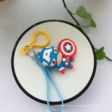 Super Heros Marvel PVC Keychain
