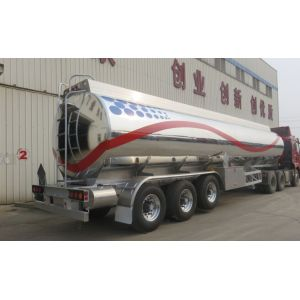 42000 litres Aluminum Alloy Tanker For Crude Oil