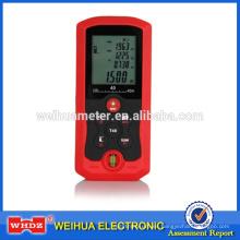 medidor de distancia láser digital LDM40D con medición de nivel de burbuja Area / Volume Tool