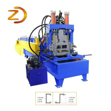 CZ Purlin Channel Roll Forming Making Machine