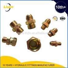 Adaptadores hidráulicos MACHO BSP