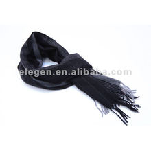 100% CASHMERE WOVEN YARN DYED STRIPED PATAR SCARF