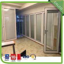 Manual Blind Swing Door