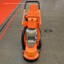 Amoladora de superficie de piso epoxi de hormigón y máquina de pulido