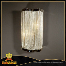 Nuevo estilo de decoración de hierro pared hotel lámparas (ka108)