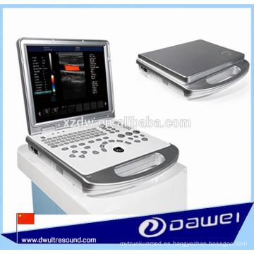 máquina de ultrasonido Doppler portátil y precio de la máquina de exploración portátil por ultrasonido DW-C60