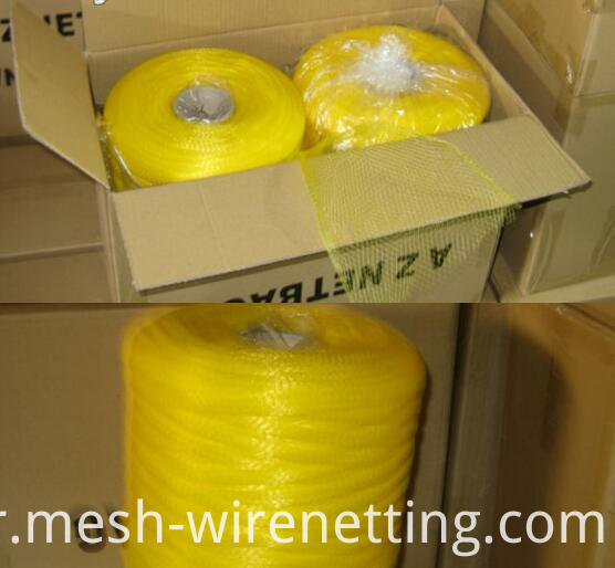 PE expandable tubular netting