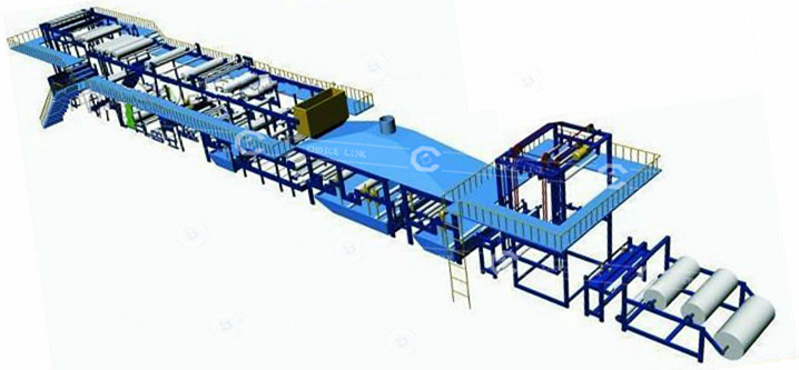 Bitumen Waterproof Roof Materials Production Line