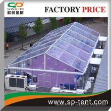 Сторона палатки ясно 15mx30m с полностью прозрачными стенами на 300 человек