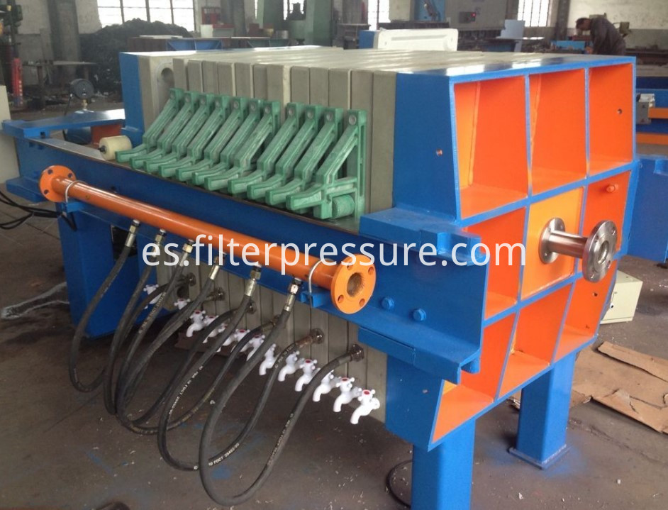 High Pressure Oil Filter Press