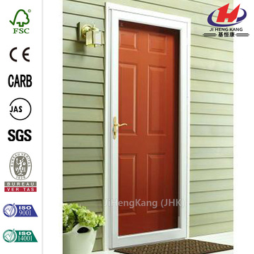 White Fullview Storm Wooden Door