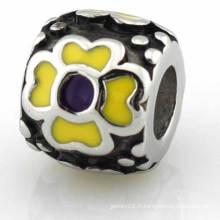 Perles de logo 316L en acier inoxydable