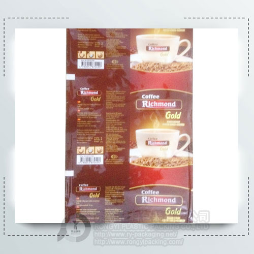 Plastic Coffee Roll Film