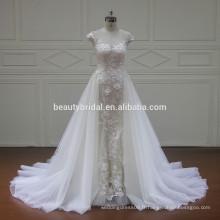 XF16073 les plus récentes robes de mariage de conceptions avec des robes de mariée train 2017