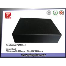 100% reines schwarzes POM-Material