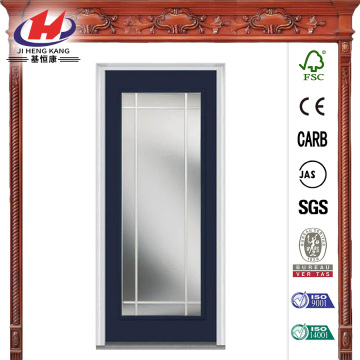 Full Lite Steel  Front Door