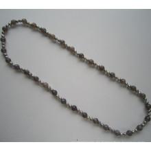 Ziemlich lange Süßwasser Perle Kostüm Halskette