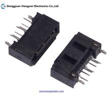 Мужской 7pin B Тип DIP All Inclusive SATA Connector
