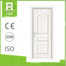 2018 Alibaba entrada de lujo MDF panel de melamina puerta de madera para la venta