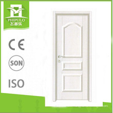 2018 Alibaba luxury entrance MDF panel melamine wooden door for sale