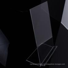Transparente Desktop Acryl Kleidung Display Stand Shirt