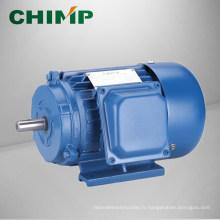 Boîtier en fonte triphasée série Y moteur asynchrone à courant alternatif fabriqué par CHIMP