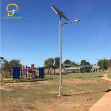 Vente chaude personnalisé CE RoHS certifié 30W 50W 60W 80W a mené l'éclairage de rue solaire extérieur