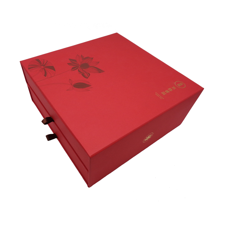 Luxury Rigid Gift Box For Tea