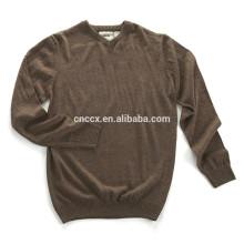 15JWA0110 Männer Acryl V-Ausschnitt Pullover