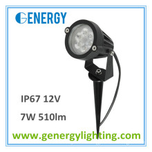 12V outdoor led garden light with spike Landscape Lighting 7W 510lm