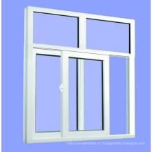 Fenêtre en verre UPVC écologique