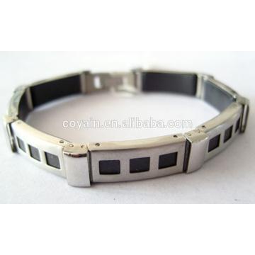 Factory Personnalise le bracelet en acier inoxydable pour hommes de haute qualité