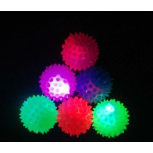 Light Up Spiky Bounce Balls 55MM