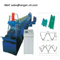 construction material manufacturers highway guardrail roll forming machine