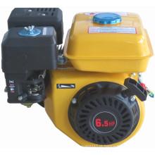 Motor a gasolina de cor amarela 6.5 HP (HH168F / HH168II)