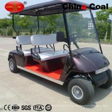 Asiento con pilas de 4 asientos Golf Golf Sightseeing Car