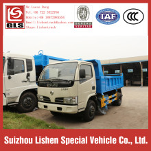 Hydraulic Garbage Truck Dongfeng Rear Load Dump