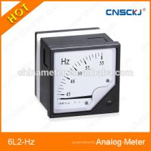 Medidores de frequência de painel analógico quente 6L2-Hz