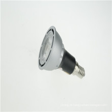 Luz do ponto do diodo emissor de luz do dimmable do COB PAR16 7w do poder superior de 7W E27 Dimmable