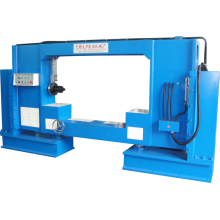 Horizontale Endabdeckung Pressmaschine