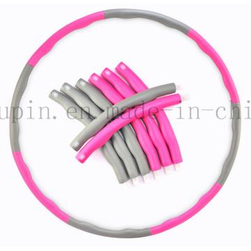OEM High Quality Plastic Foam PE Detachable Hula Hoop
