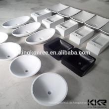 Acryl Stein über Zähler Solid Surface Waschbecken