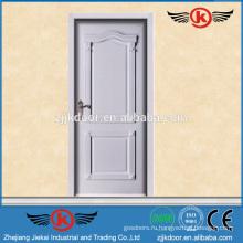 JK-SD9018 новая деревянная дверь стиля с сплошной деревянной дверью