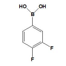 Acide 3, 4-difluorophénylboronique N ° CAS 168267-41-2