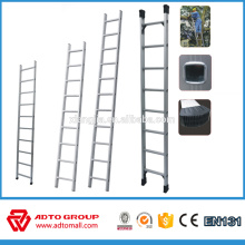 Single pole ladder,aluminum straight ladder,scaffolding ladder