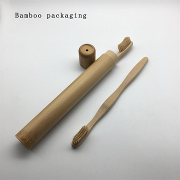 Biodegradable Environmental Adult Bamboo Toothbrush