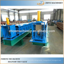 Rain Water Colored Steel Gutter Roller Former Production Line