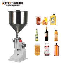 Manual type paste and liquid both filling machine for honey toothpaste juice gel shampoo hand washing filling