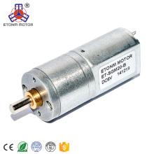 Motor Micro Geard de baja velocidad y alta potencia de 12V
