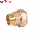 LB Guten top 1/2*1/2 inch F*M Elbow Brass Compression Fittings
